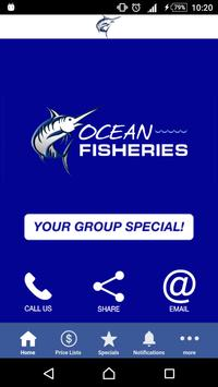 Ocean Fisheries poster
