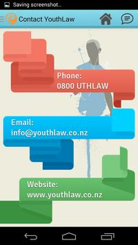 YouthLaw Aotearoa apk screenshot