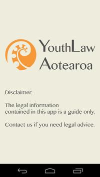 YouthLaw Aotearoa poster