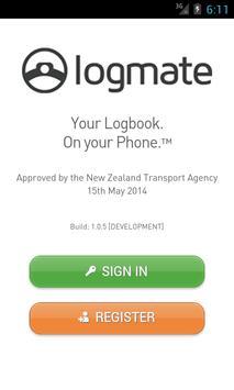 Logmate poster