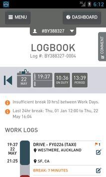 Logmate apk screenshot