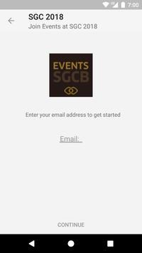 Events@SGC 2018 apk screenshot