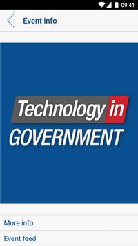 Tech in Gov poster