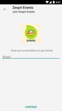 Zespri Events screenshot 2