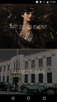 Art Deco Napier - Self Guided Tour and Event Guide poster