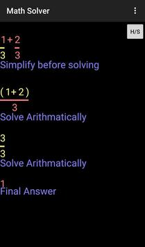 Math Solver screenshot 3