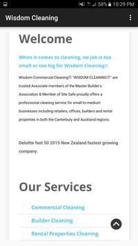 Wisdom Cleaning screenshot 1