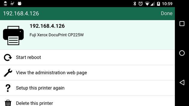 Reboot My Fuji Printer apk screenshot