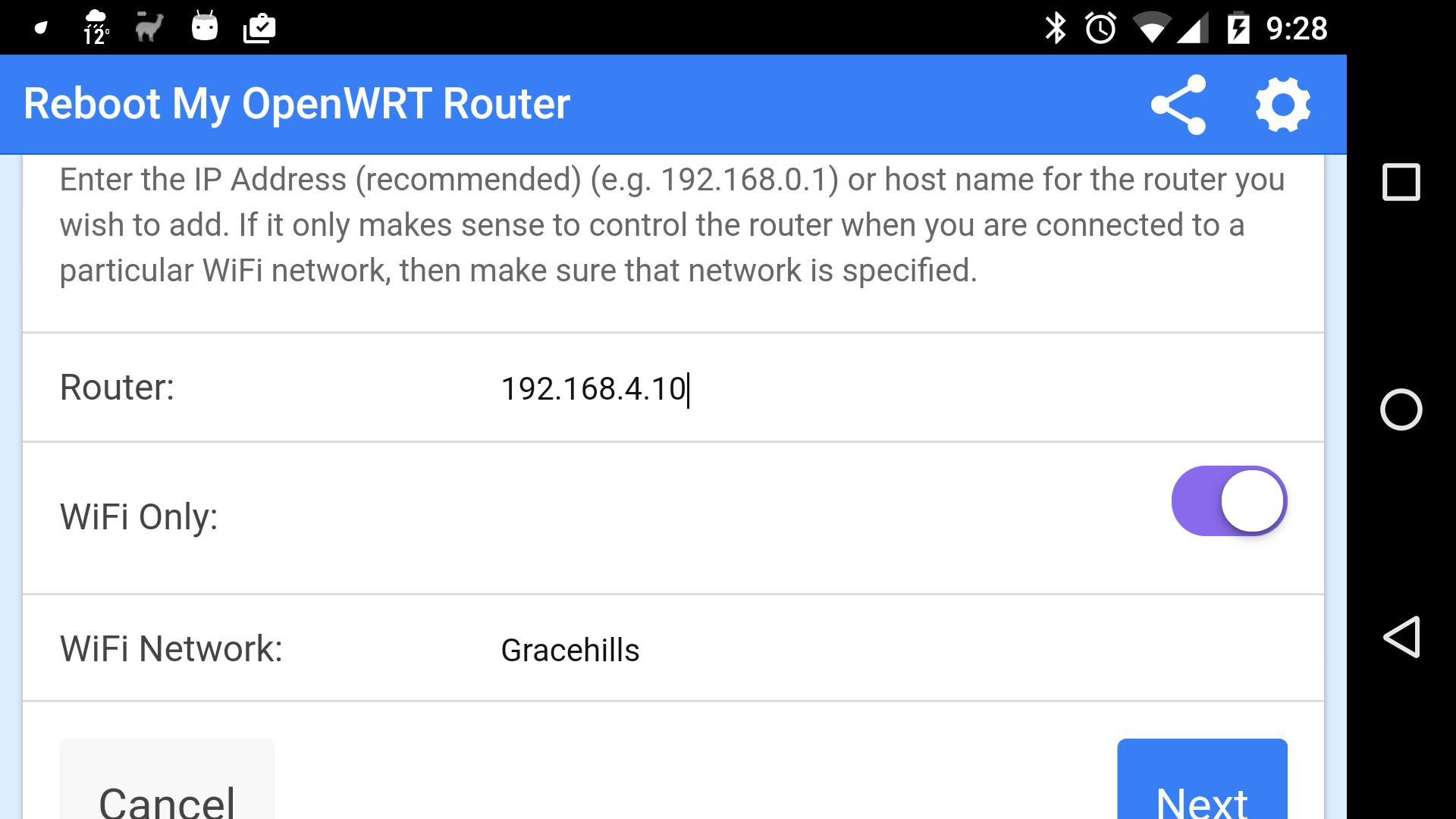 Reboot My OpenWRT Router for Android - APK Download