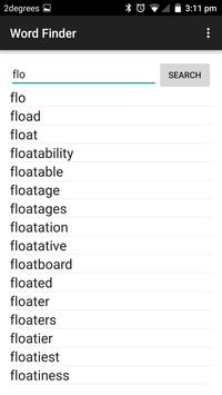 Ultimate Word Finder screenshot 3