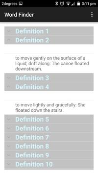 Ultimate Word Finder screenshot 4