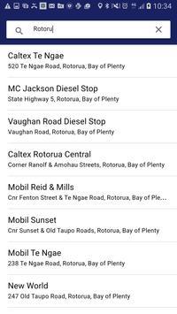 FnF Fuel Station Finder apk screenshot