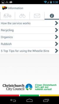 Christchurch Wheelie Bins apk screenshot