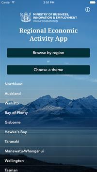 New Zealand Regions App poster