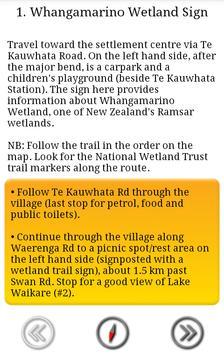 NWT: Whangamarino Trail Guide screenshot 1