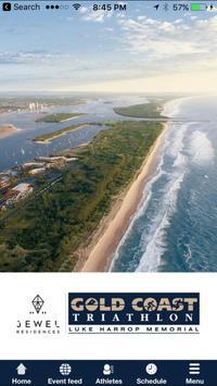 Jewel Gold Coast Triathlon poster