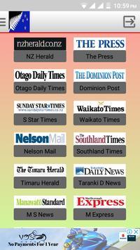 New Zealand Newspapers screenshot 1