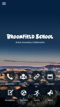 Broomfield School poster