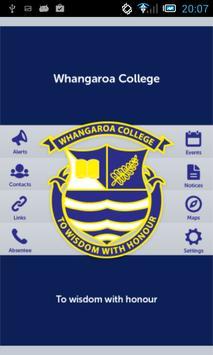 Whangaroa College poster