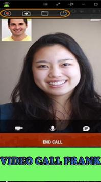 Prank video call apk screenshot