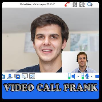 Prank video call poster