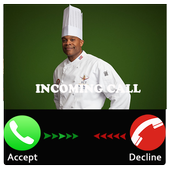 Prank chef call icon