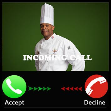 Prank chef call poster