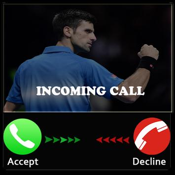 Prank Djokovic Call apk screenshot