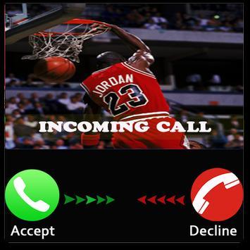 Prank basket ball call apk screenshot