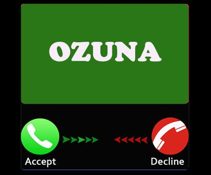 Prank Ozuna Call apk screenshot