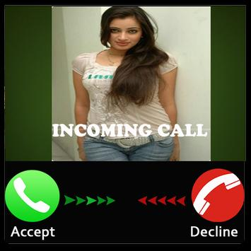 Prank sexy girl call poster