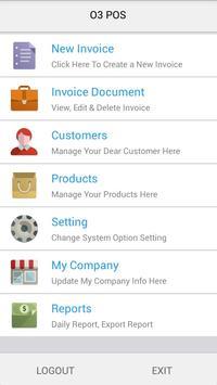 o3 Mobile POS - Billing - Invoice - GST / SST screenshot 1