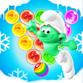 Village Pop Bubble  Smurf icon