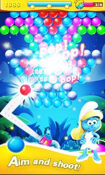 Village Pop Bubble  Smurf poster