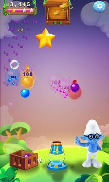 Bubble Shooter-Smurf Bulls 2018 apk screenshot