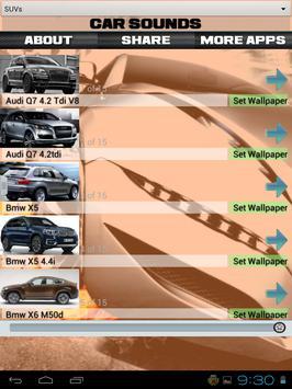Car Sounds and Wallpapers apk screenshot