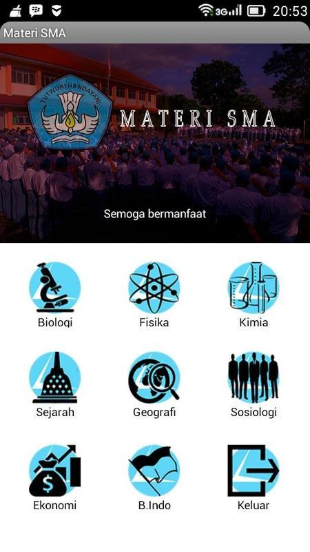 Materi Sma Apk Download Gratis Pendidikan Apl Untuk Android Apkpure Com