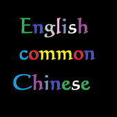 300 common Chinese English icon