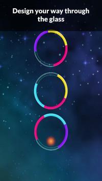 Color Bounzy ballz: tap to switch & hop screenshot 2
