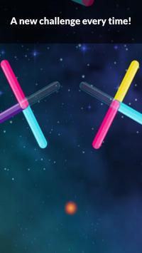Color Bounzy ballz: tap to switch & hop screenshot 4