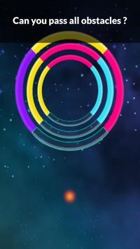 Color Bounzy ballz: tap to switch & hop screenshot 6