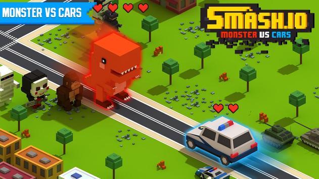 Monster VS Cars poster