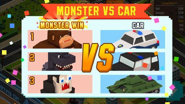Monster VS Cars screenshot 2