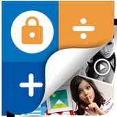 Photo,Video Locker-Calculator Zeichen