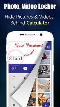 Photo,Video Locker-Calculator Plakat