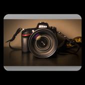 DSLR Camera Photo Editing icon