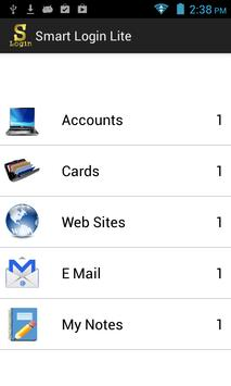 Smart Login Lite apk screenshot