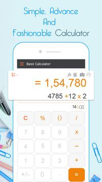 Smart Calculator – Take Photo to Solve Math poster