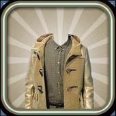 Man Fashion Jacket Photo Suit icon