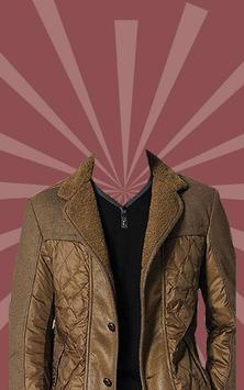 Man Fashion Jacket Photo Suit poster